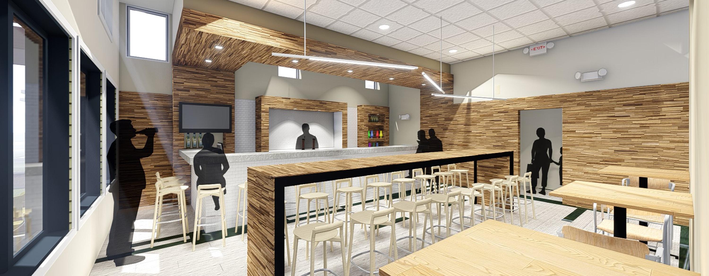 Restaurant Concept  Patriquin Architects New Haven CT