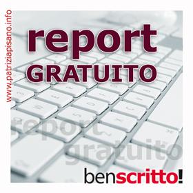 Report gratuito - Patrizia Pisano
