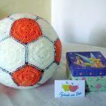 Balón de futbol amigurumi paso a paso