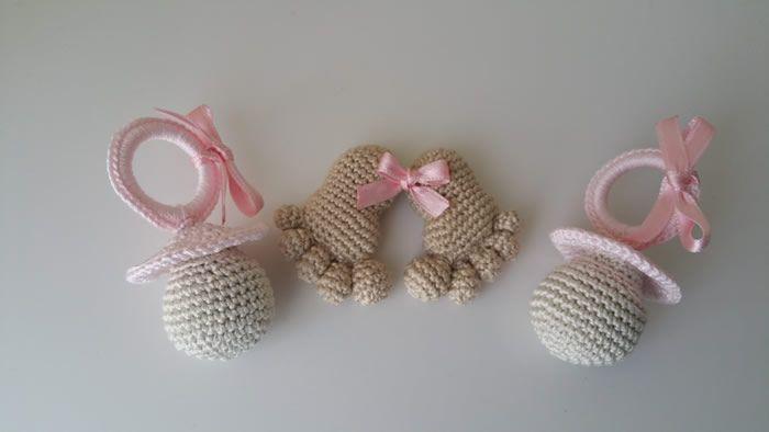Huellas de Bebé amigurumi con patrón gratis