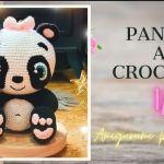 Osito panda amigurumi paso a paso