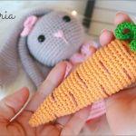 Zanahoria amigurumi tejida a crochet fácil
