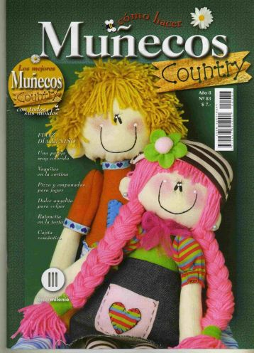 Revista muñecos country