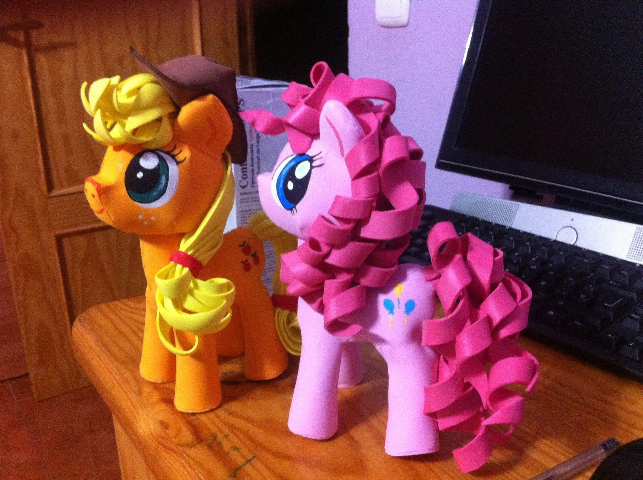 My litter pony fofucho o en Goma Eva - Patrones gratis 4205037c18c