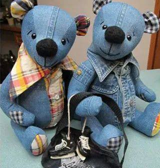 oso de pantalones vaqueros 1