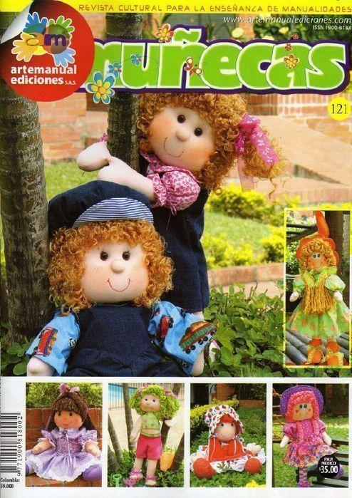 Revista de muñecas - Patrones gratis