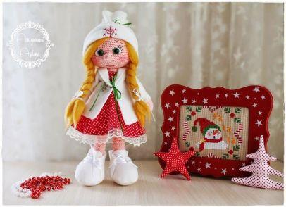 Muñeca amigurumi en PatronesMil.es