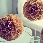 Hacer flores de papel