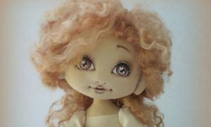 muñeca con ojos bonitos