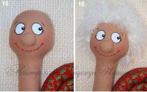 muñeco caracol 9