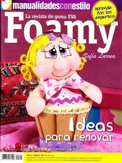 revista goma eva - Foamy