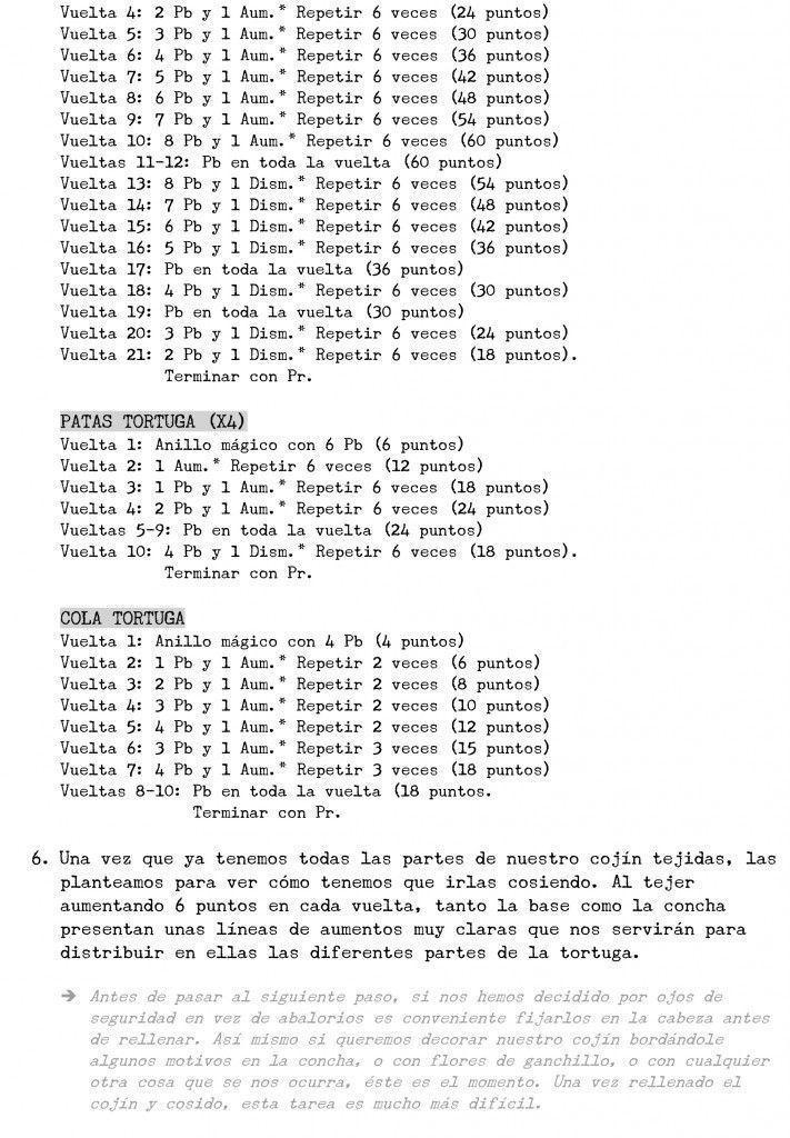 tortuga crochet 6 - Patrones gratis