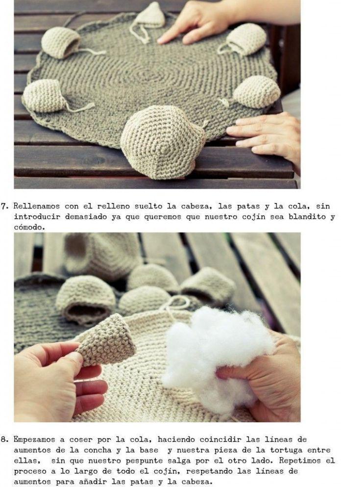 tortuga crochet 7