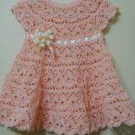 Vestido a crochet para Bebe