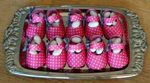 Zapatos baby shower