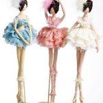 Bailarinas de piernas largas