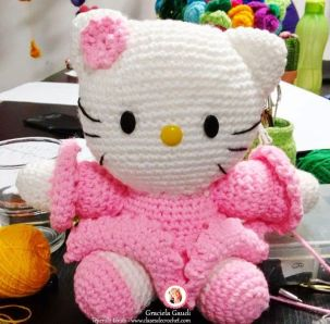 kitty crochet amigurumi