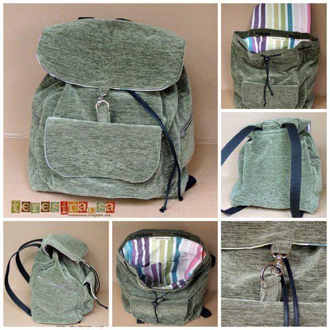 531bcfbf1 Tutorial para hacer una mochila - Patrones gratis