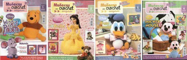 revistas muñecos crochet