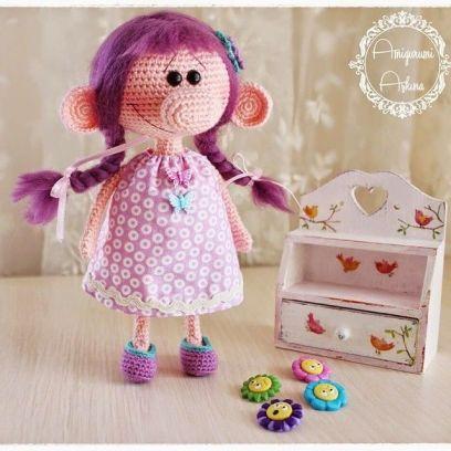 muñeca amgirumi