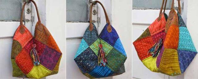 Manualidades bolsos en patchwork - Manualidades patchwork bolsos ...
