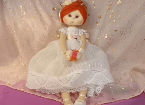 muñeca de comunión tutorial completo