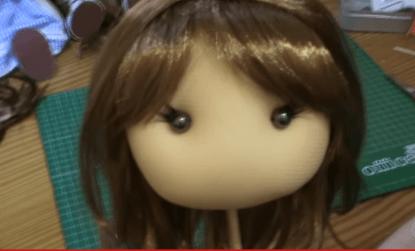 pelo para muñecas