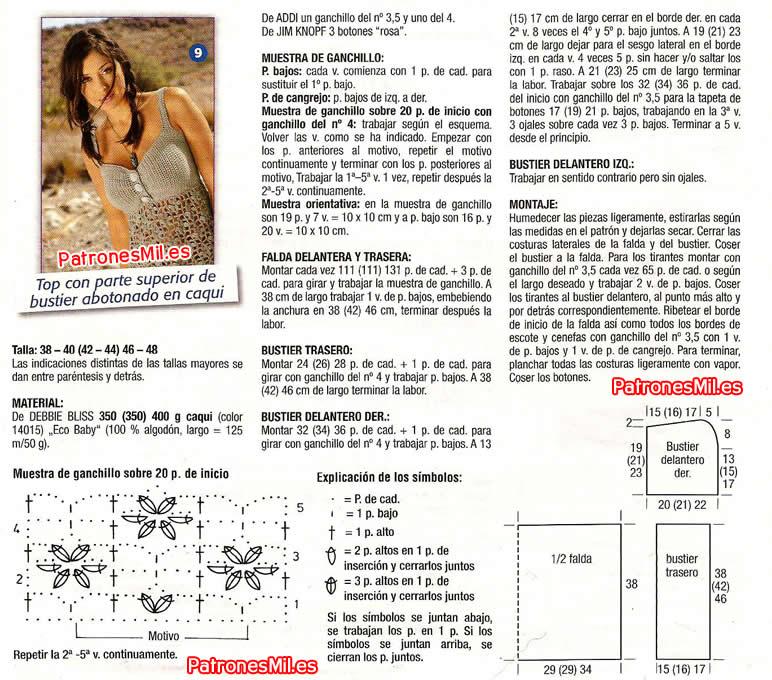 Vistoso Patrón De Botón De Ganchillo Fotos - Ideas de Patrones de ...