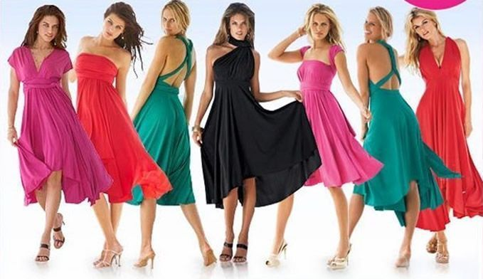 018840cc4 Vestidos Multiusos. vestido-multiformas
