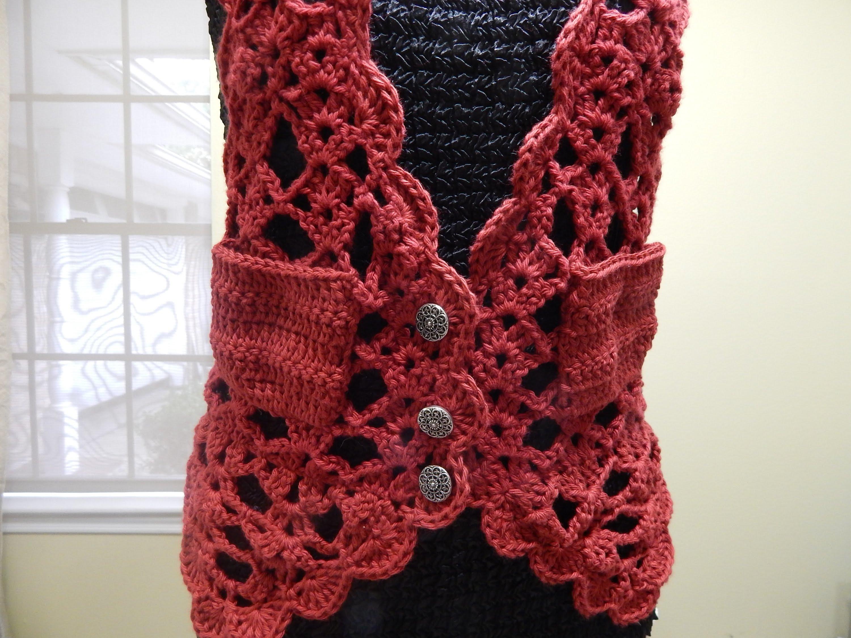 Chaleco Crochet - Patrones gratis