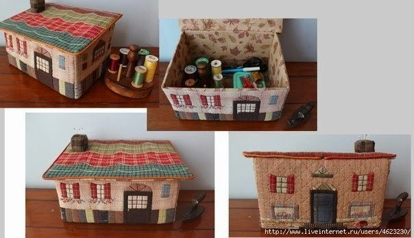 costurero casa fieltro
