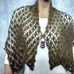 Bufanda chalina en crochet