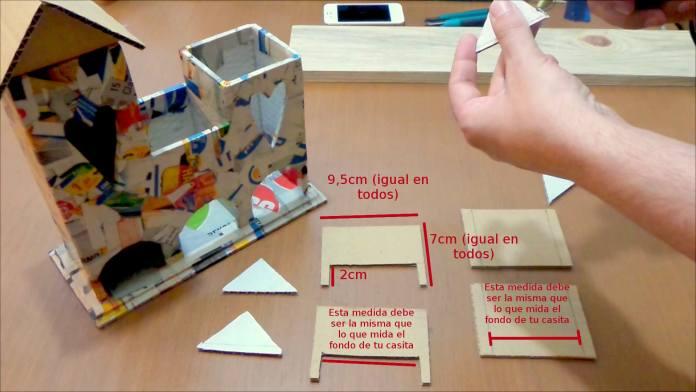 casita de carton para guardar te o infusiones2