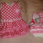 Vestido faralaes para niñas