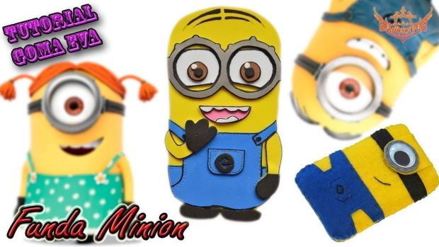 Funda de movil de minion 2