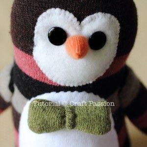 pinguino calcetin 17
