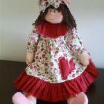 Muñeca de tela Antonieta