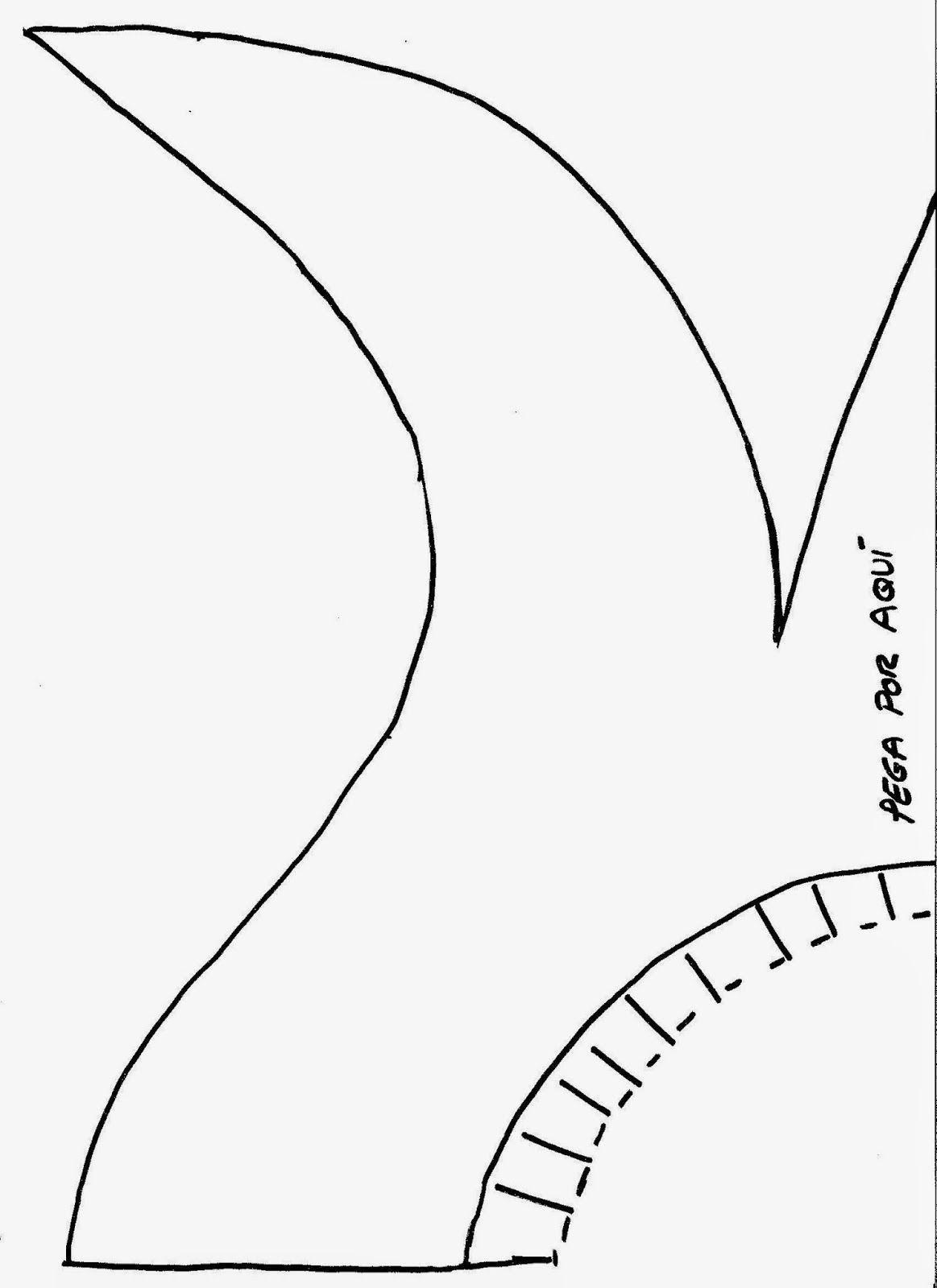 Disfraz de Maléfica completo con tutorial - Patrones gratis