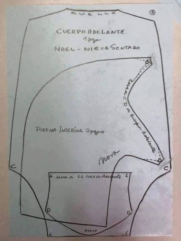 patron muneco papa noel tela (4)
