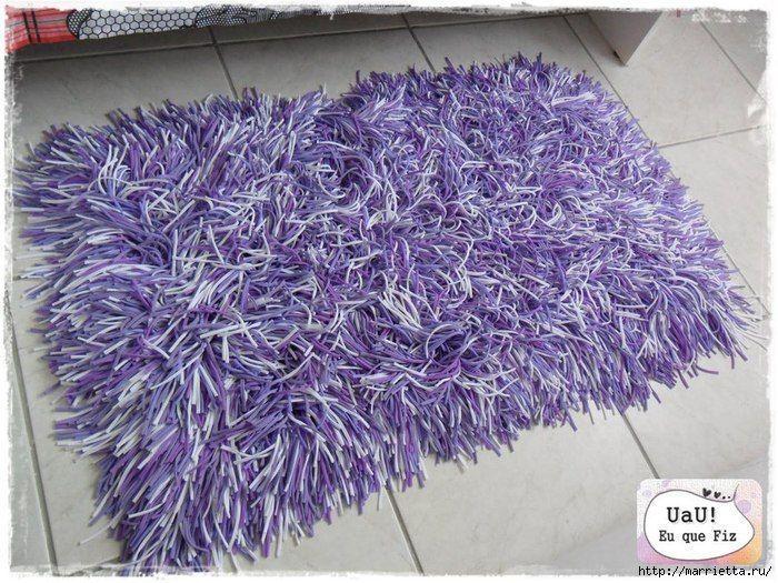 Como hacer una alfombra de trapillo patrones gratis - Alfombras de trapillo originales ...