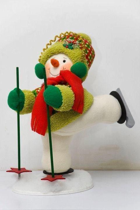 muñeco de nieve squieador