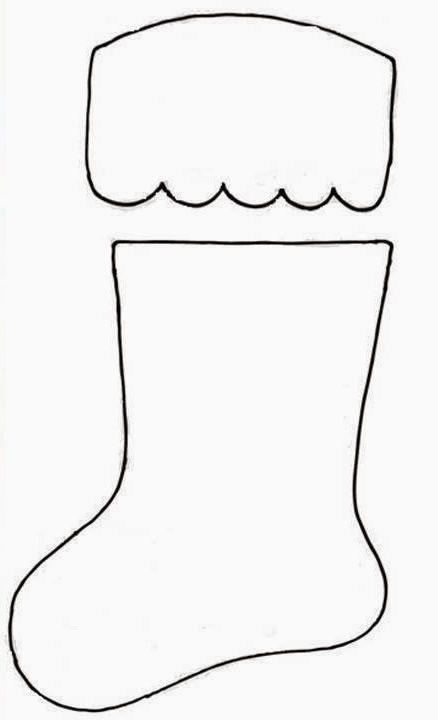 Bota de navidad para cubiertos - Patrones gratis