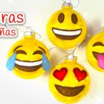 Esferas navideñas de emoticones