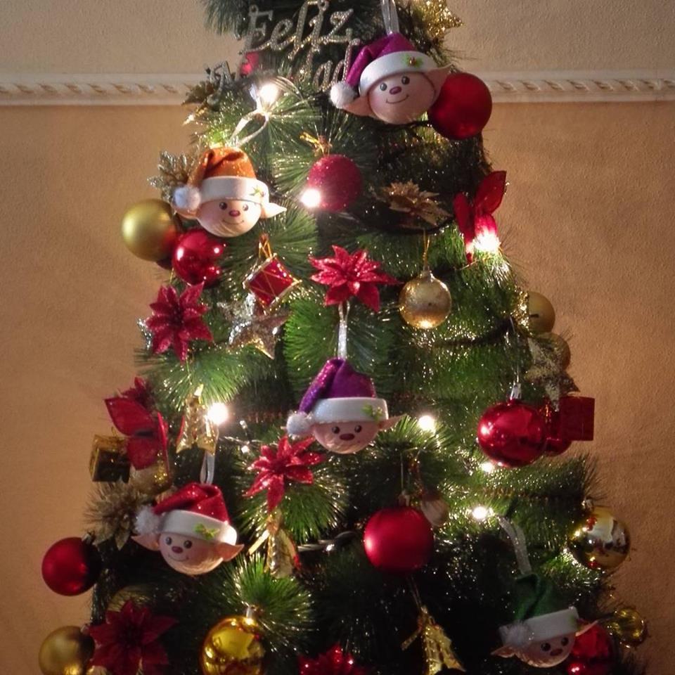 Adornos navide os elfos patrones gratis - Arboles de navidad bonitos ...