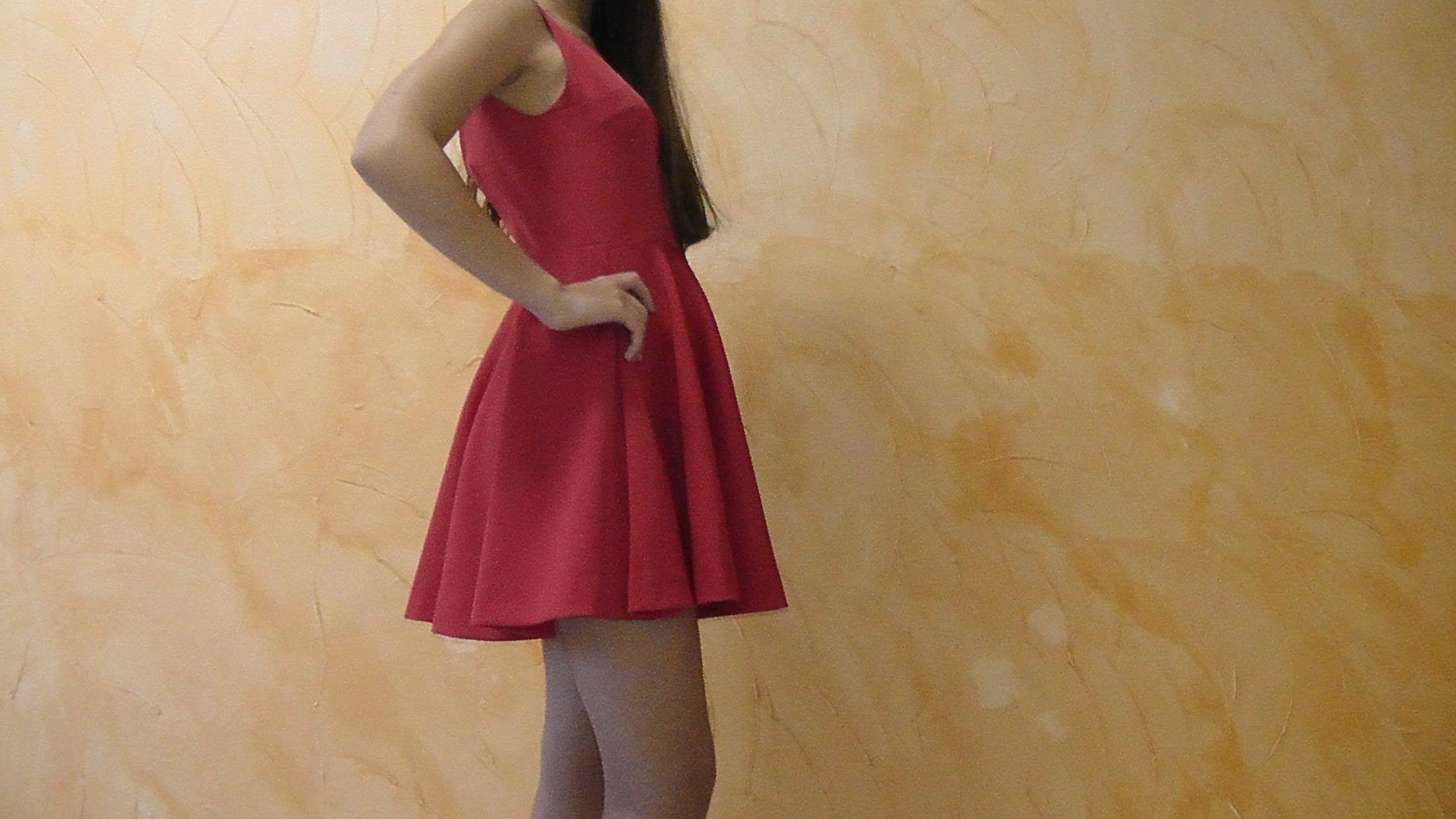 Como hacer un vestido con falda de capa - Patrones gratis b783a99ebcca
