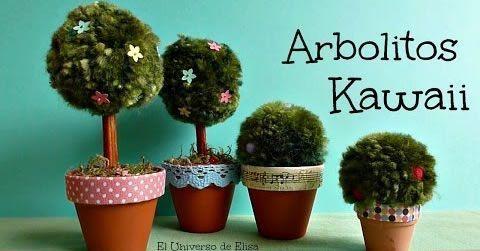 arbolitos arbustos