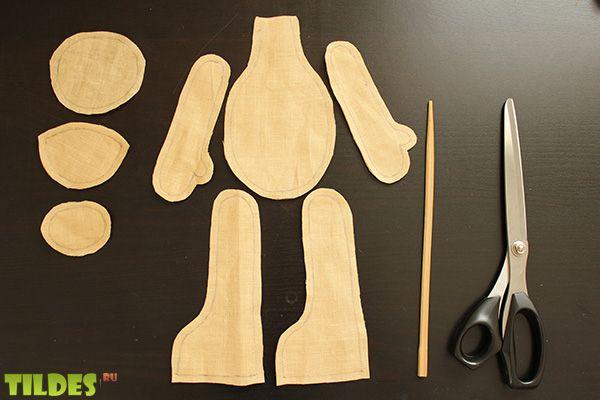 cortar piezas muñeca tildes 2