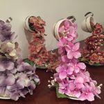 Como hacer una Cascada de flores