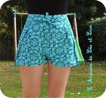 Hacer unos shorts con un pañuelo
