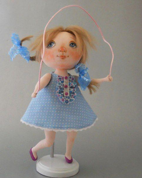 patron muñeca de tela